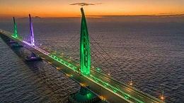 港珠澳大桥开展全线试运行通关测试