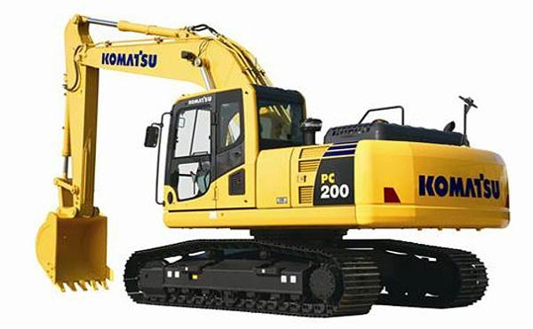 8小松挖掘机d