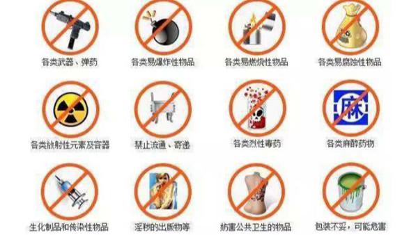 禁止进境物品